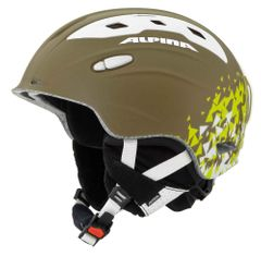 Alpina Snow Mythos - Allmountain Skihelm - olive silk matt