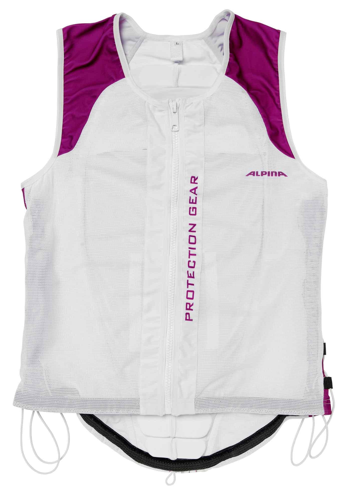 Alpina Jacket Soft Protector Ergo Flex - weiß