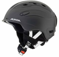 Alpina Snow Mythos - Allmountain Skihelm - schwarz silk matt