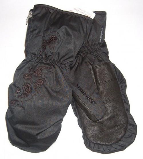 Zanier Telfs.ZX - Damen Fausthandschuhe - schwarz