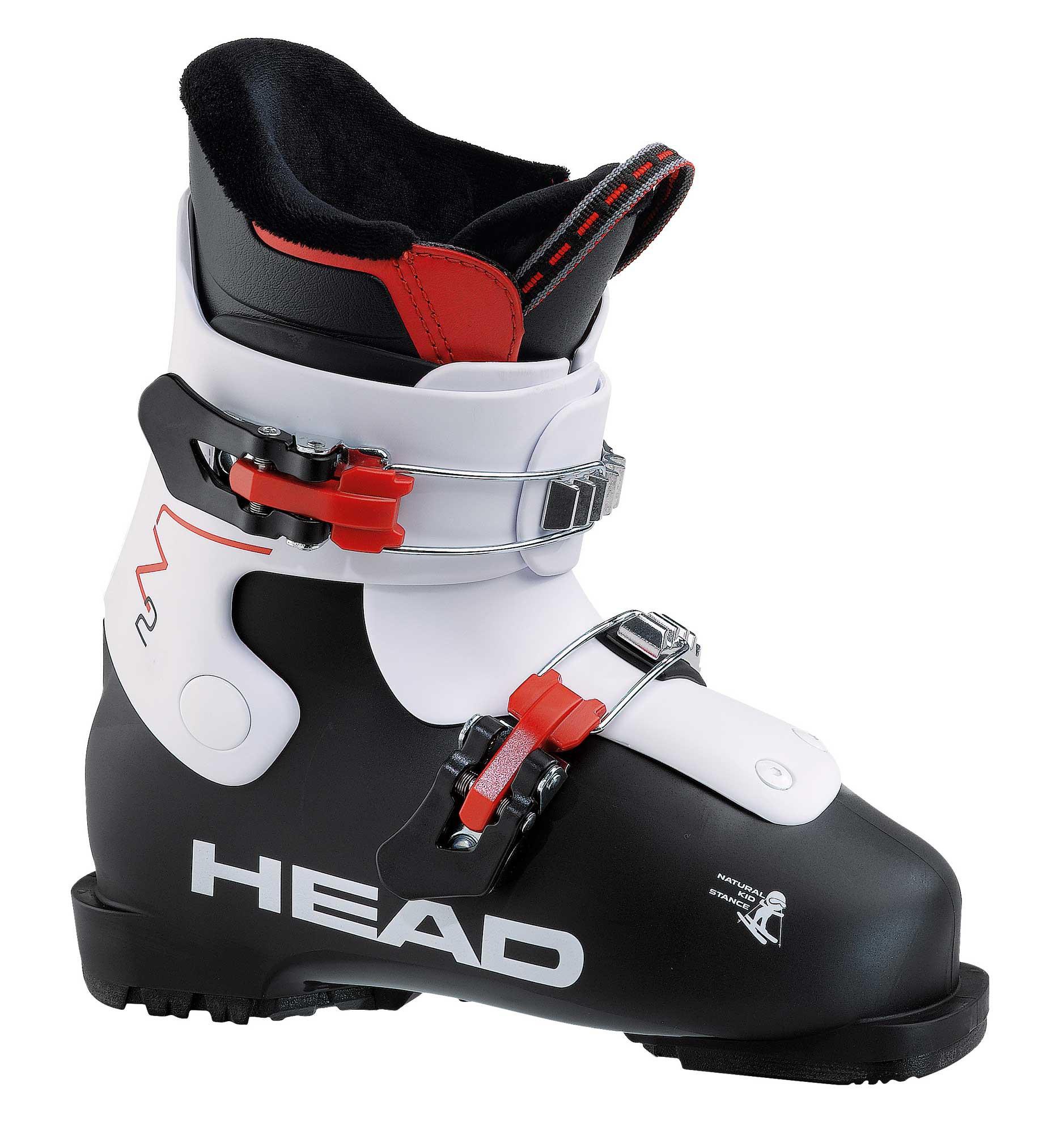 Head Z 2 - schwarz / weiss - Jugend Skischuhe