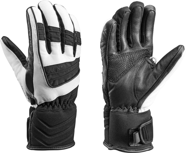 Leki Griffin S Lady - weiss/schwarz - Damen Leder Handschuhe mit Trigger S