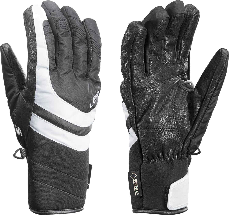 Leki Louise S GTX Lady - schwarz/weiss - Damenhandschuhe mit Trigger S