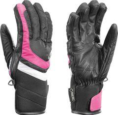 Leki Louise S GTX Lady - schwarz/beere - Damenhandschuhe mit Trigger S - Größe 8