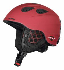 Alpina Grap 2.0 LE - Allmountain Skihelm - deep-red matt