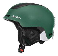 Alpina Spine - Freeride Skihelm - pine green matt