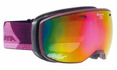 Alpina Estetica - deepviolet MM pink - Damen/Mädchen Skibrille