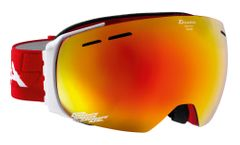 Alpina Granby - rot MM rot - Doubleflex Multimirror - Skibrille
