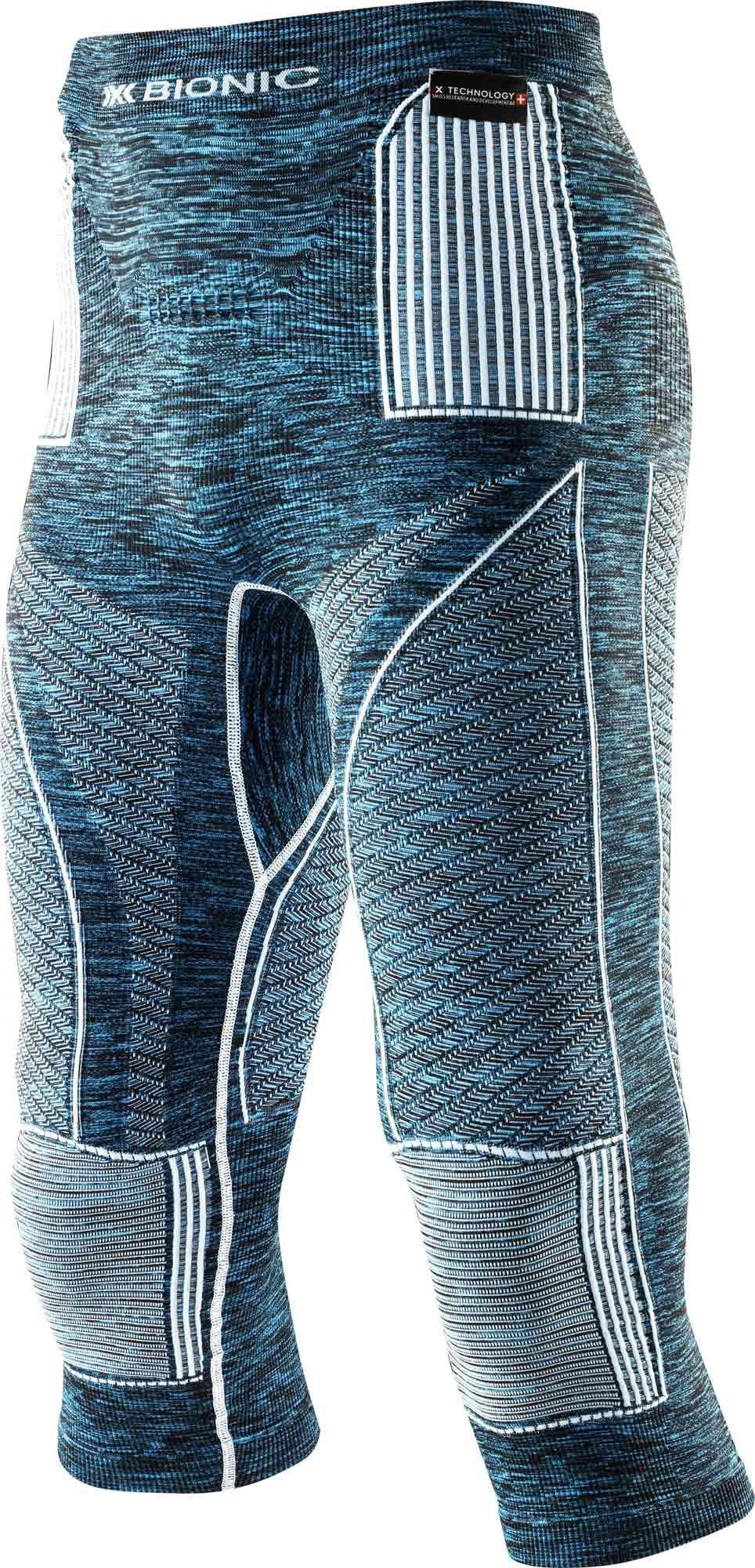 X-Bionic Man Accumulator Evo Melange UW Pants Medium - Funktionsunterhose - I100667