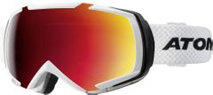 Atomic Revel Racing - weiss/rot - incl. Extra Scheibe - Unisex Skibrille