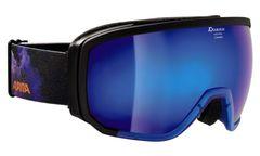 Alpina Scarabeo - transparent blau/schwarz MM blau - Herren Skibrille