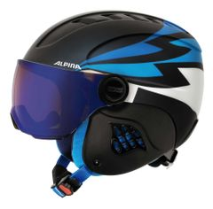 Alpina Carat LE Visor HM - Jugend Visierhelm - nightblue denim matt