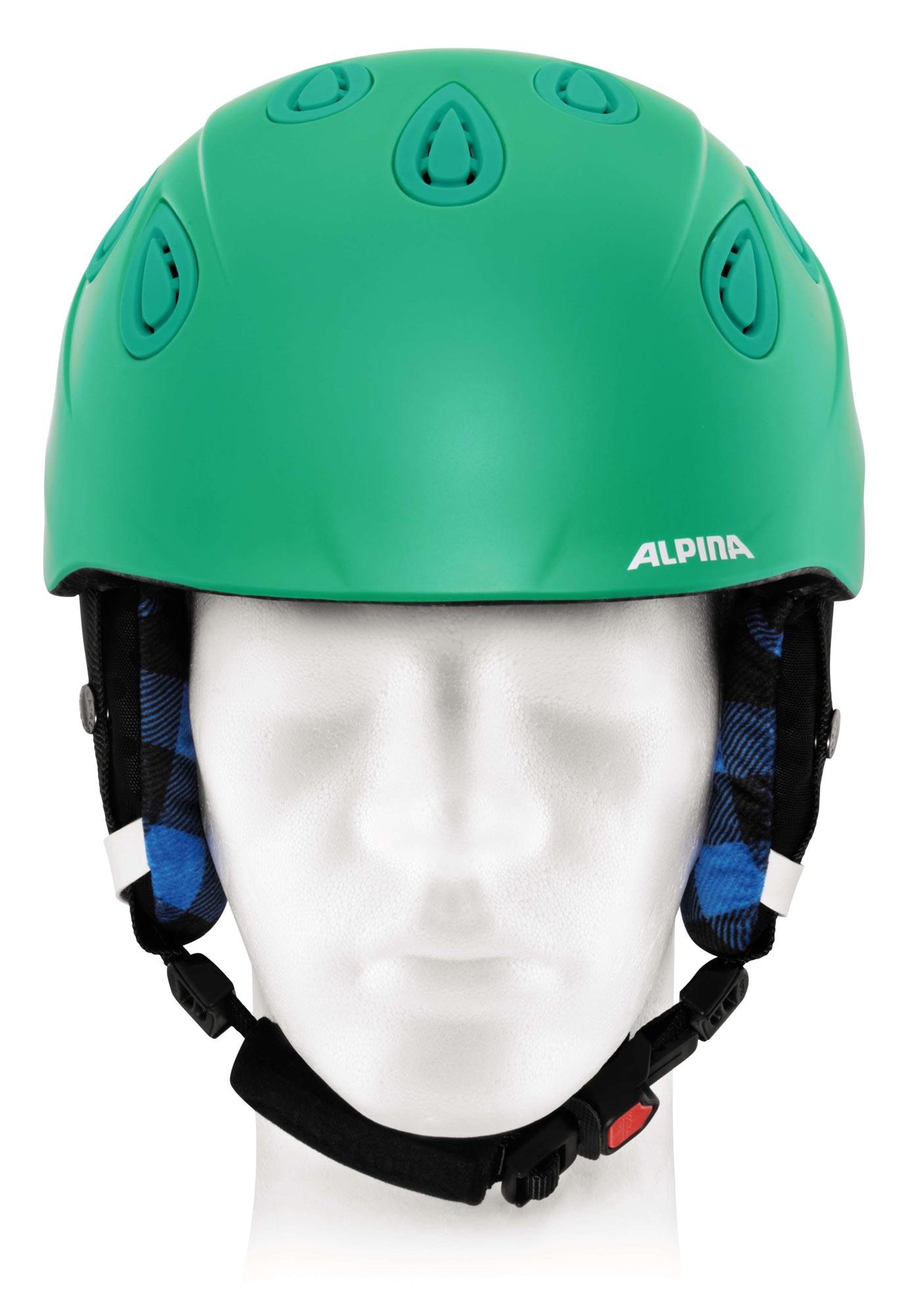 Alpina Grap 2.0 - Allmountain Skihelm - cold green matt - Gr. 54-57