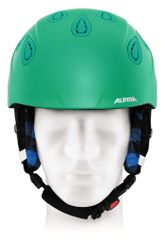 Alpina Grap 2.0 - Allmountain Skihelm - cold green matt