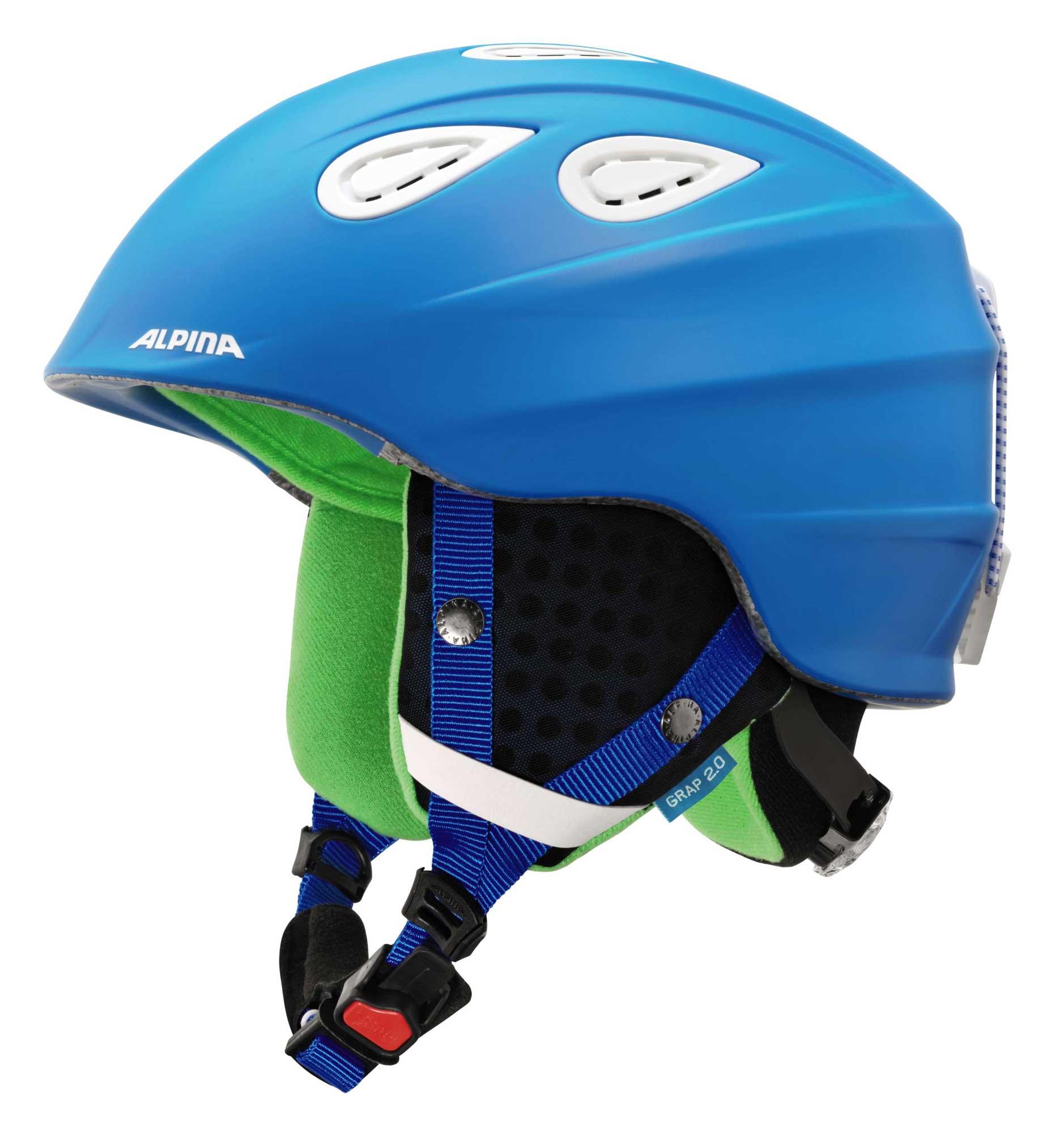 Alpina Grap 2.0 - Allmountain Skihelm - blue matt
