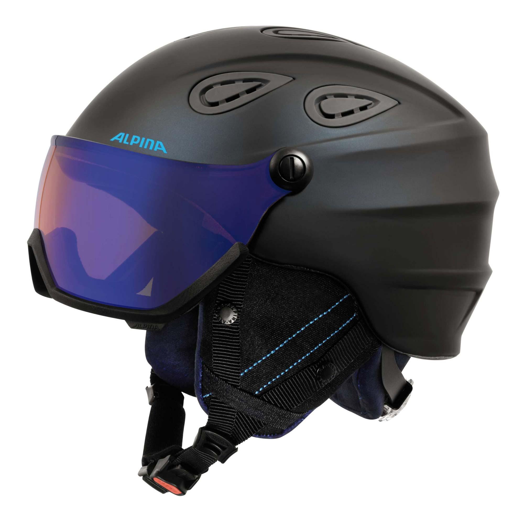 Alpina Grap Visor HM - Visierhelm - nightblue denim matt