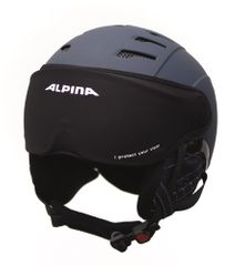 Alpina Ski Helmet Visor Cover - black