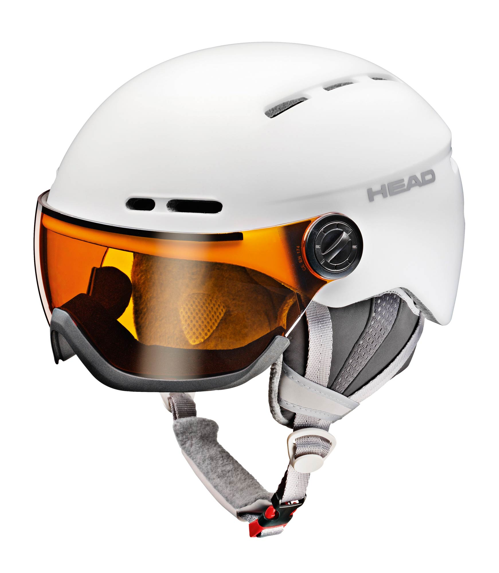 Head Queen white - Damen Skihelm mit Visier