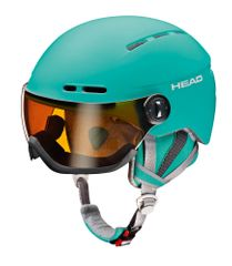Head Queen turquoise - Damen Skihelm mit Visier