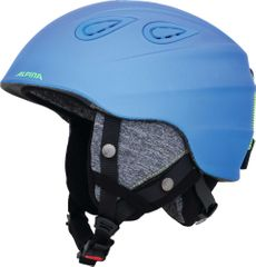 Alpina Grap 2.0 - Allmountain Skihelm - blue neon yellow matt
