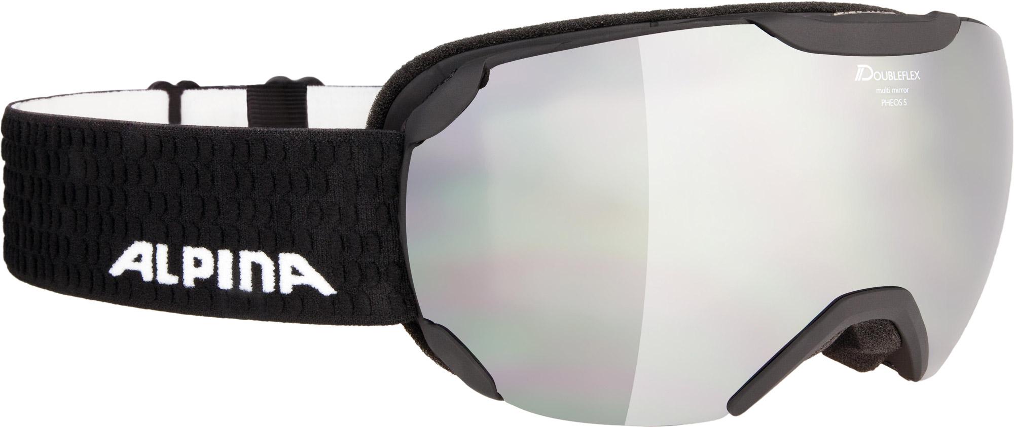 Alpina Pheos S - black matt MM black - Unisex Skibrille