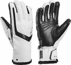 Leki Stella S Lady - white black - Damenhandschuhe mit Trigger S