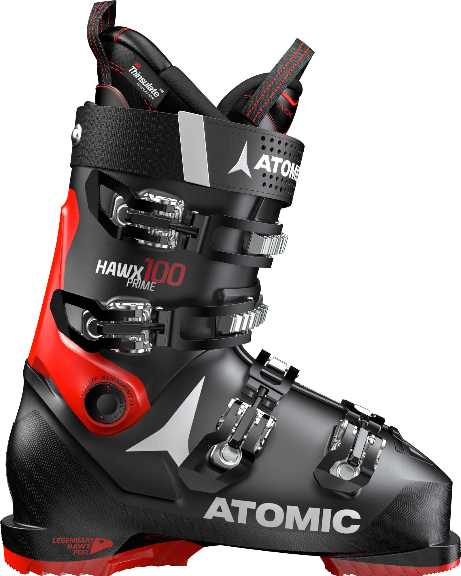 Atomic Hawx Prime 100 - Black / Red (2020)