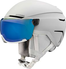 Atomic Savor Visor Stereo - White Heather  - Visier Skihelm (2020)