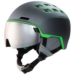 Head Radar - grey/green - Unisex Skihelm mit Visier (2020)
