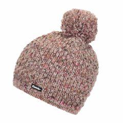 Eisbär Billie Pompon MÜ - Damenmütze - rose meliert (30650-700)