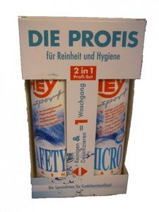 HEY-Sport Micro & Safety Wash-IN Set je 250ml Flasche