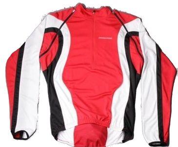 Nakamura Fahrrad Trikot Rovereto langarm abzippbar auf kurzarm rot