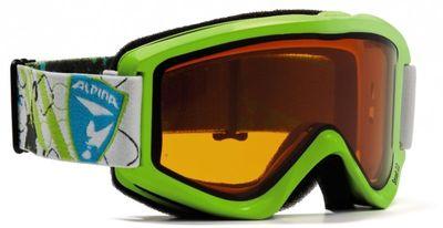 Alpina Smash 2.0 Doubelflex Skibrille für Jugendliche lime