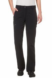 Vaude Damen Wander Freizeit Hose Women's Strathcona Softshell Pants schwarz