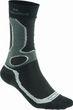 Meindl Damen Herren air Revolution Dry Outdoor & Funktions- Socken schwarz / silber