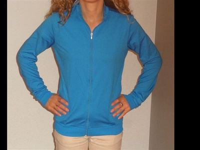 energetics Kinder Fitness- und Trainingsjacke GWO 10.4123 blau