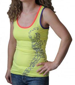 energetics Damen Freizeit Fitness Tank Top Shirt Zalena yellow light