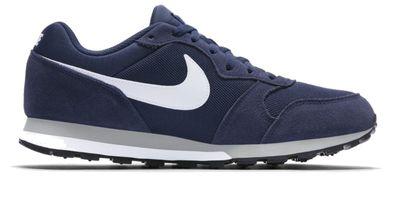 Nike Herren Sportschuh Freizeitschuh NIKE MD RUNNER II TXT blau
