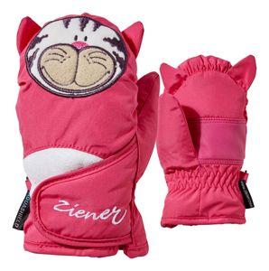 Ziener Kinderfäustling Handschuh LAFAUNA AS MINIS Kätzchen pop pink