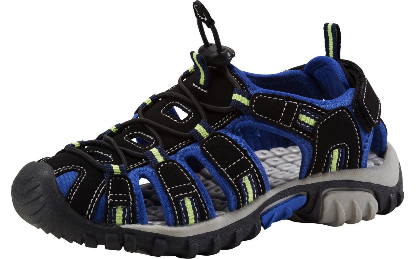 McKinley Kinder Trekking-Sandale Vapor 2 JR navy schwarz / blau / grün, Größe:38
