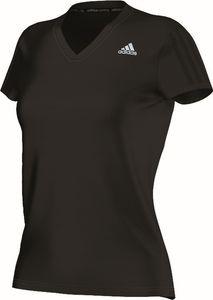 adidas Damen Laufshirt Response Short Sleeve W Schwarz