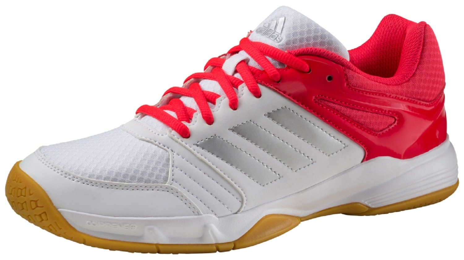 adidas Speedcourt W Damen Hallenschuhe 39 1/3 FTWWHT/SILVMT/SHORED