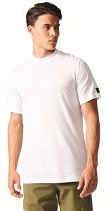 adidas Herren Sport Fitness Shirt ID Baby Terry Basic Tee weiß