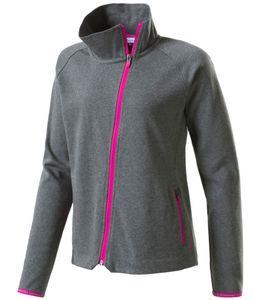 energetics Mädchen Sport Freizeit trendige Fleece Jacke Felis grau pink