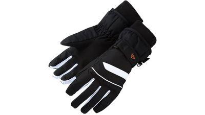 McKinley Kinder Skihandschuh Fingerhandschuh MORGAN schwarz / weiß
