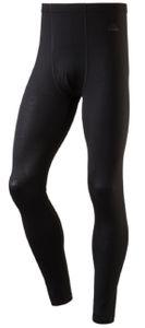 McKinley Herren lange Unterhose aus Wolle RIVER schwarz