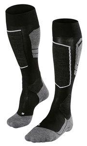 Falke Herren Ski-Socken Skisocken SK4 black-mix schwarz grau