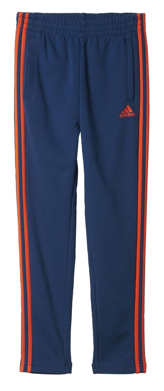 a3067abbd5bac3 adidas Performance Kinder Trainingshose ESS 3 Stripes French Terry Pant  blau rot