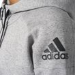 adidas Damen Kapuzen- Trainingsjacke Stadium Full-Zip Hood grau Bild 6