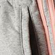adidas Kinder Sport Trainingshose Essentials 3 Stripes Pant grau rosa Bild 5